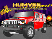 Humvee Demolition Parking