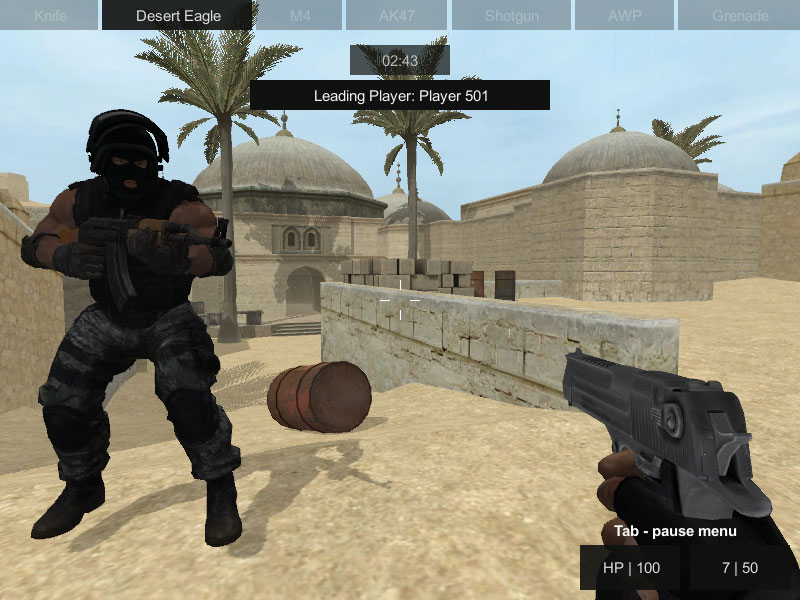 Counter Strike…
